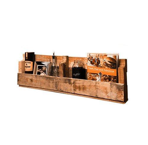 Pallet wood shelf pistol pete 39 s for Pallet wall shelf