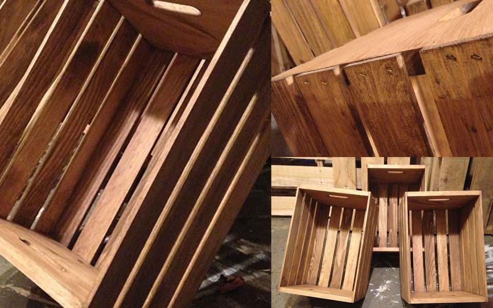 Rustic Wooden Crate