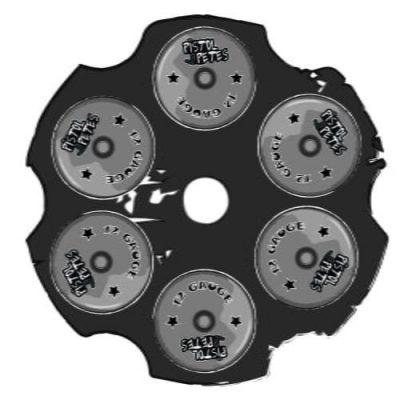 gun chamber sticker