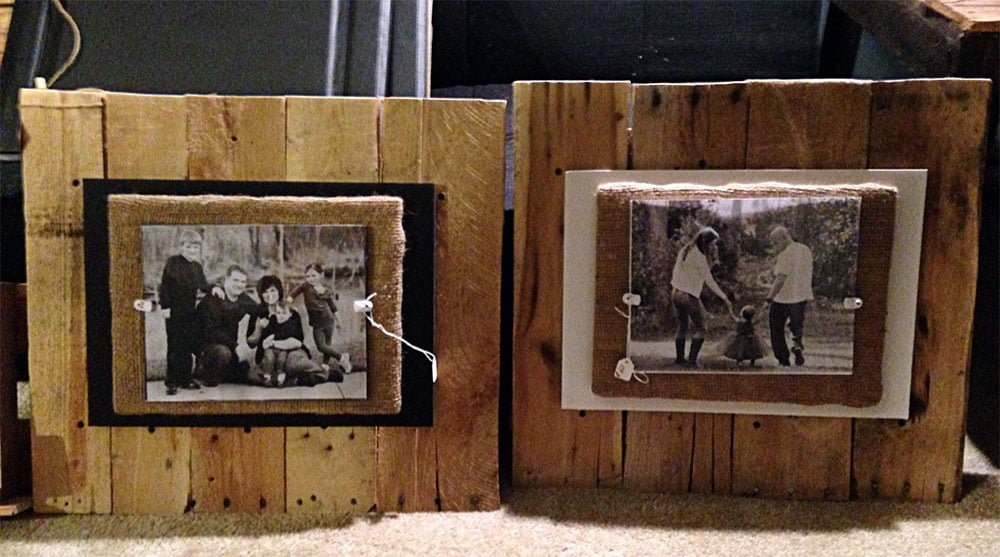 Pallet Picture Frames - Pistol Pete\'s