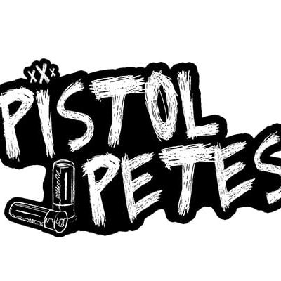 pistol petes logo sticker