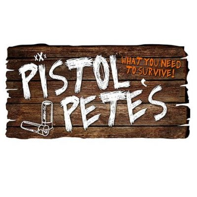 pistol petes barn sign sticker