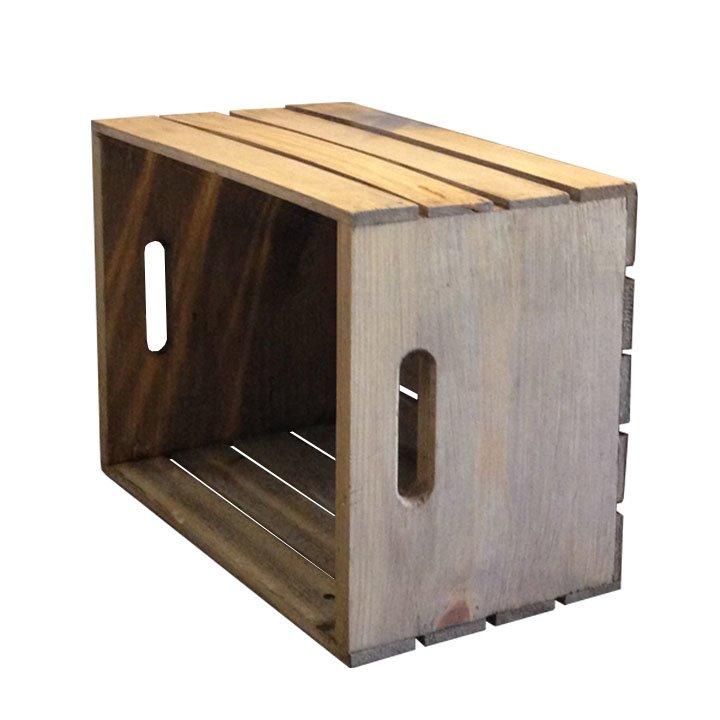 Rustic Wooden Crate Pistol Pete S