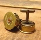 12 Gauge Shotgun Cufflinks
