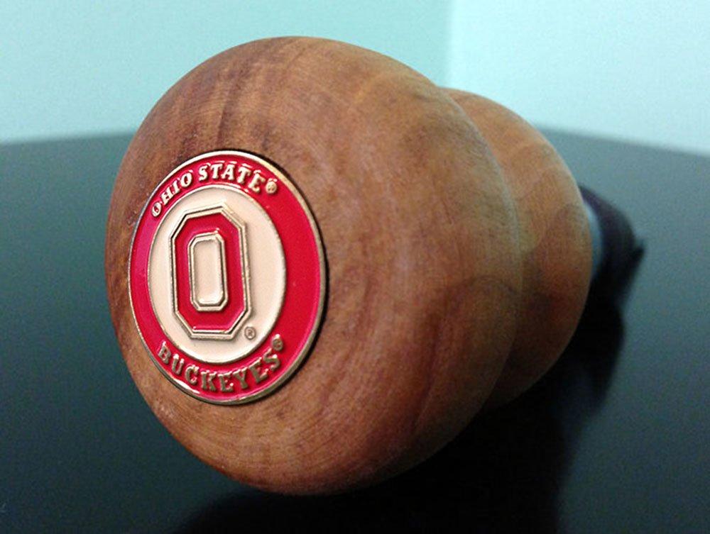 Ohio State Logo Wood Bottle Stopper Pistol Pete S