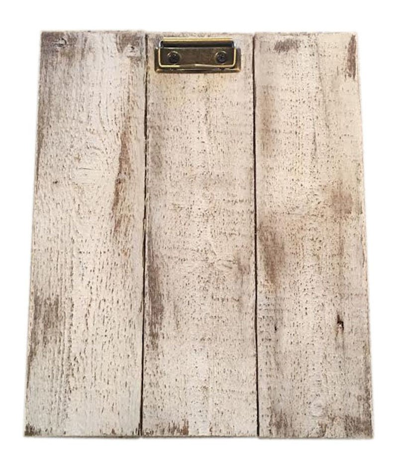 Rustic Wood Clipboards - Pistol Pete's