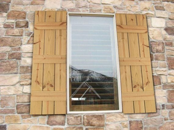 Farmhouse Style Shutters Pistol Pete s