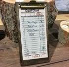 Restaurant Check Presenter Clipboards