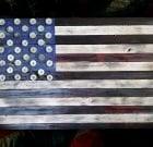 Wood USA Flag