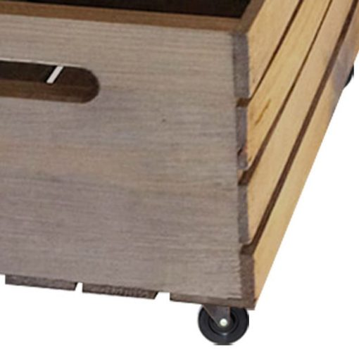 Crate with Wheels
